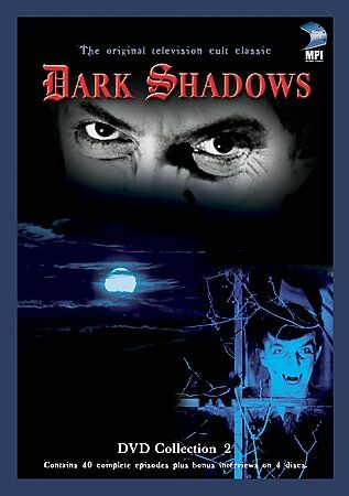 Dark Shadows - Collection 2 (DVD, 2002, 4-Disc Set, Four Disc Box)