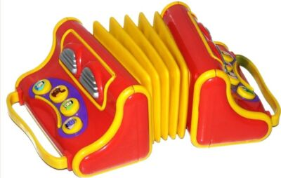 The Wiggles Musical Singing Play Along Pretend Toy  Accordion Accordian