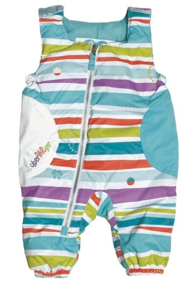 NEW Obermeyer Arielle Bib Pants Girls 6 Months Baby Winter Snow Ski Suit Msrp$70