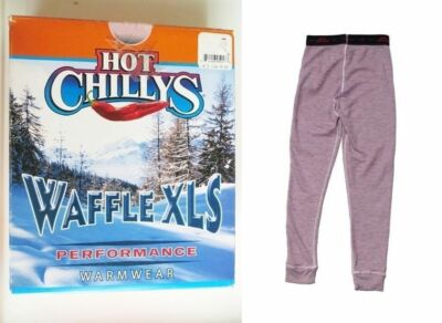 NEW Hot Chillys Waffle Girls Large Thermal Bottoms Under Layer Ski Pants Ret$36