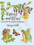 Fairies and Elves Iron-on Transfer Patterns (Iron-On Transfers)