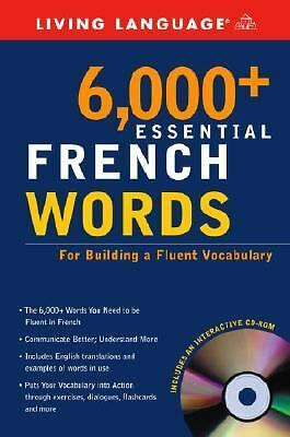 6,000+ Essential French Words with CD-ROM (Essential Vocabulary), Living Languag