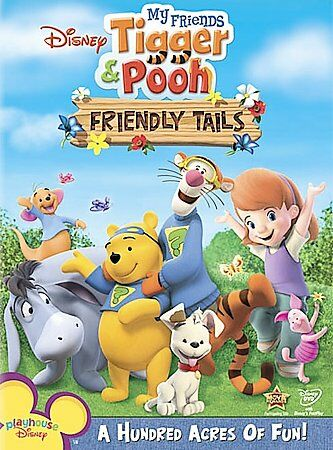 My Friends Tigger & Pooh - Friendly Tails, Good DVD, My Friends Tigger & Pooh, n