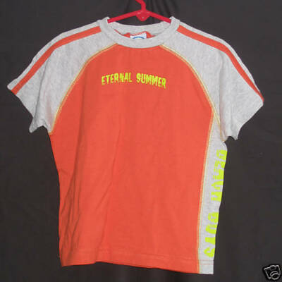 NWoT Little Boys Eternal Summer Orange T-Shirt Size 4