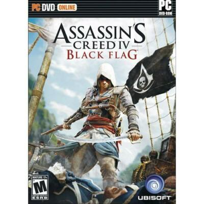 Assassin's Creed IV: Black Flag PC DVD Software