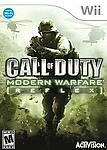 Call of Duty: Modern Warfare: Reflex, Good Nintendo Wii, Nintendo Wii Video Game