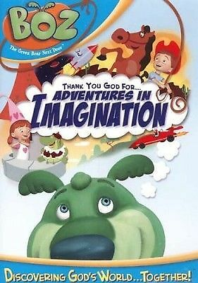 DVD-Boz/Thank You God For Adventure In Imagination, Good DVD, ,