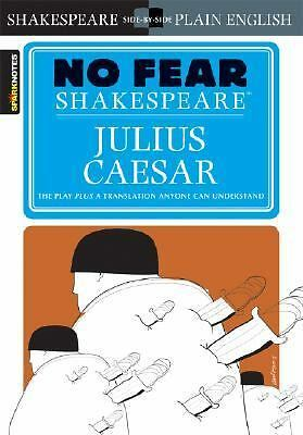 Julius Caesar (No Fear Shakespeare), SparkNotes Editors, Good Book