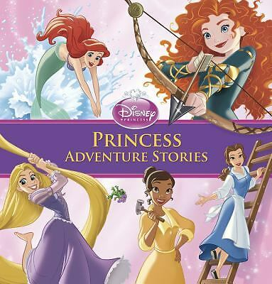 Princess Adventure Stories (Storybook Collection), Disney Book Group, Good Book