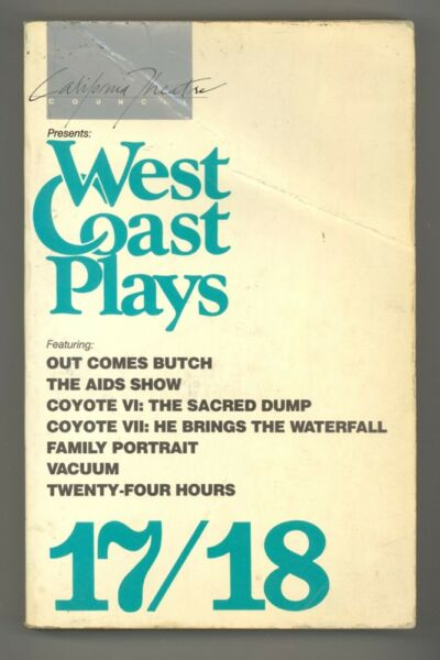 West Coast Plays 17/18: PPBK 1985 Stage Scripts - RARE Torch Song Trilogy Sequel