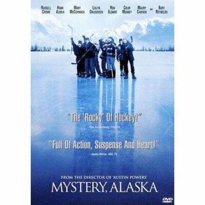 Mystery, Alaska, Good DVD, Russell Crowe, Burt Reynolds, Hank Azaria, Mary McCor