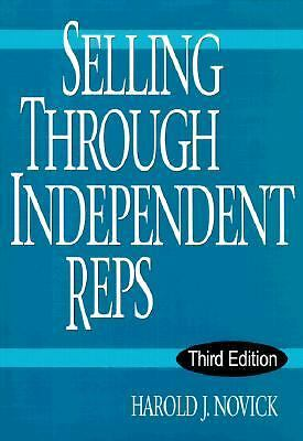 Selling Through Independent Reps, Novick, Harold J., Good Book