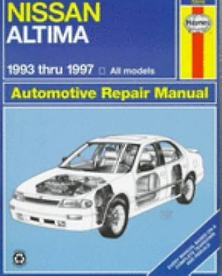 Nissan Altima Automotive Repair Manual: Models Covered : All Nissan Altima Mode