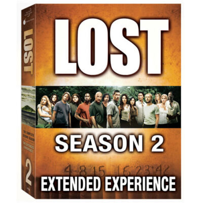 Lost - The Complete Second Season, Good DVD, Matthew Fox, Evangeline Lilly, Terr