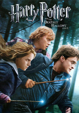 Harry Potter and the Deathly Hallows, Part 1, Good DVD, Daniel Radcliffe, Rupert