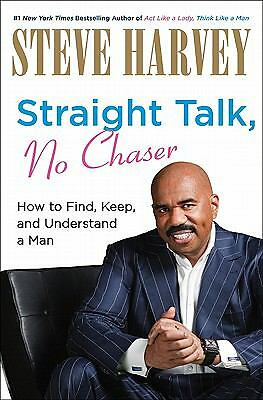 Straight Talk, No Chaser signed edition, Harvey, Steve, Good Book