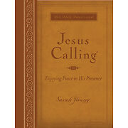 Jesus Calling: Large Deluxe Edition, Young, Sarah, Good Book