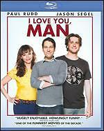 I Love You, Man [Blu-ray] by Paul Rudd, Jason Segel, Rashida Jones, Andy Samber