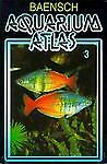 GIFT Aquarium Atlas Vol. 3 by Rudiger Riehl & Hans A. Baensch (1996, Hardcover)