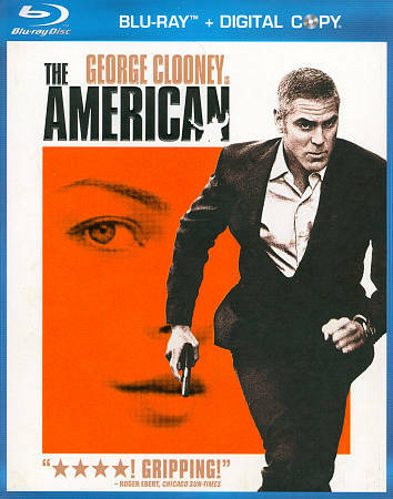The American [Blu-ray], Good DVD, George Clooney, Thekla Reuten, Anton Corbijn