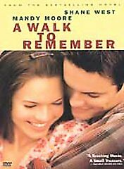 A Walk to Remember, Good DVD, Shane West, Mandy Moore,