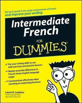 Intermediate French For Dummies, Lawless, Laura K., Good Book