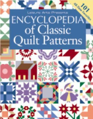 Encyclopedia Of Classic Quilt Patterns, Oxmoor House Editors, Acceptable Book