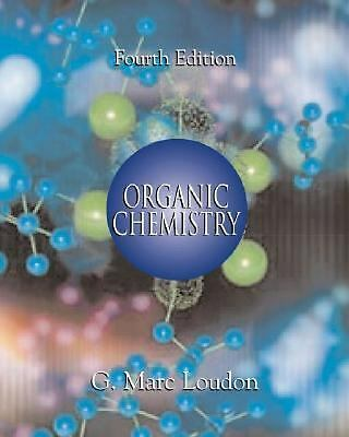 Organic Chemistry, Loudon, G. Marc, Good Book