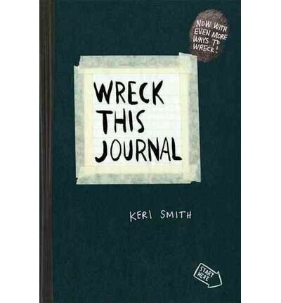 Wreck This Journal (Red) Expanded Ed. by Smith, Keri