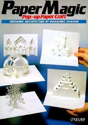 Paper Magic: Pop-Up Paper Craft: Origamic Architecture, Chatani, Masahiro, Good