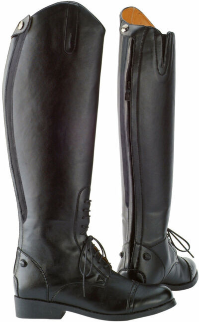Saxon Equileather Tall Field Boot - Ladies - Many sizes NEW