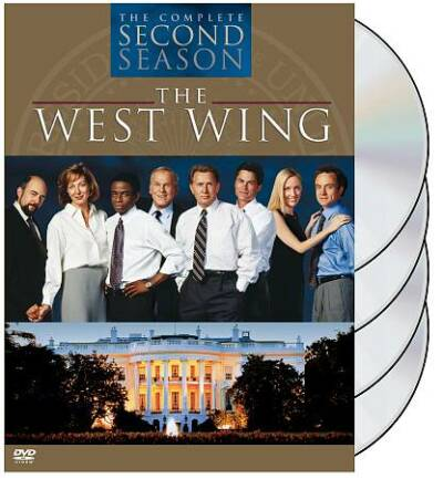 The West Wing: The Complete Second Season, Good DVD, Martin Sheen, Bradley Whitf