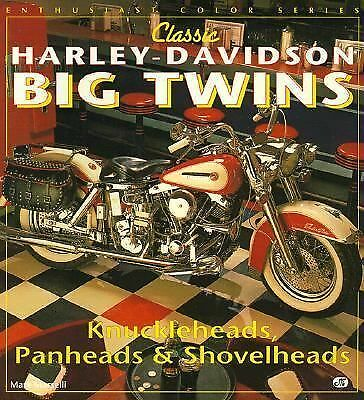 Classic Harley-Davidson Big Twins (Enthusiast Color Series), Marselli, Mark, Goo