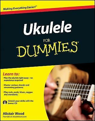 Ukulele For Dummies, Wood, Alistair, Good Book