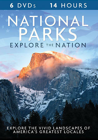 National Parks - Explore the Nation, Good DVD, Various,
