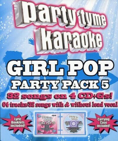 Party Tyme Karaoke - Girl Pop Party Pack 5 [4 CD+G] by