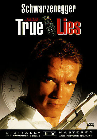 True Lies, Good DVD, Arnold Schwarzenegger, Jamie Lee Curtis, Tom Arnold, Bill P