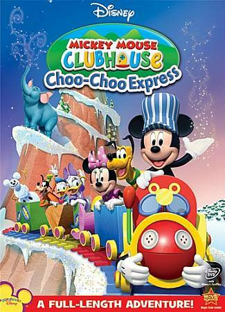 Mickey Mouse Clubhouse: Choo-Choo Express, Good DVD, Mickey Mouse Clubhouse, n/a