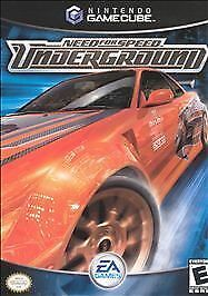 Need for Speed: Underground, Good GameCube, Pc Video Games