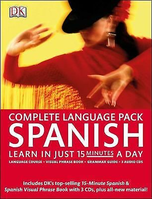 Complete Spanish Pack (Complete Language Pack), DK Publishing, Good Book