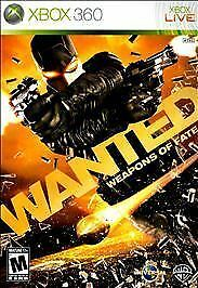 Wanted: Weapons of Fate - Xbox 360, Good Xbox 360, Xbox 360 Video Games