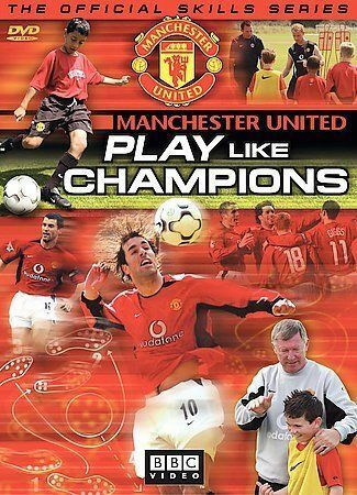 Manchester United - Play Like Champions, Good DVD, ,
