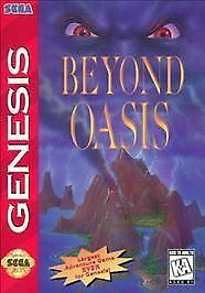 Beyond Oasis - Sega Genesis, Good Sega Genesis, Sega Genesis Video Games