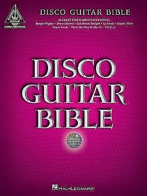 Disco Guitar Bible (Guitar Recorded Version)