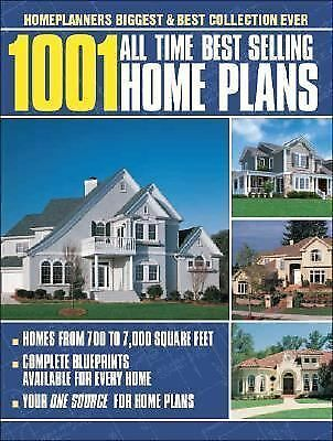 1001 All Time Best Selling Home Plans by Home Planners