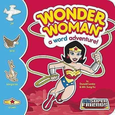 Wonder Woman: A Word Adventure! (DC Super Friends Word Adventures) by Lemke, Do
