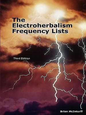 The Electroherbalism Frequency Lists, McInturff, Brian, Good Book