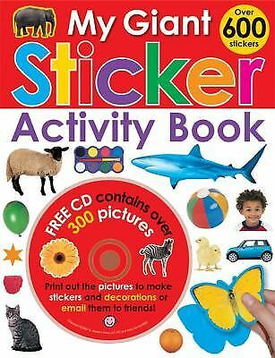 My Giant Sticker Activity Book (with CD), Priddy, Roger, Good Book