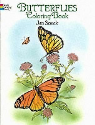 Butterflies Coloring Book (Dover Nature Coloring Book), Jan Sovak, Coloring Book