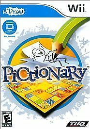Pictionary - Udraw, Good Nintendo Wii, Nintendo Wii Video Games